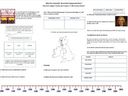 Why the Industrial Revolution Happened Here? - Worksheet to support the BBC Documentary