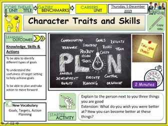 Careers - Character Traits and Skills