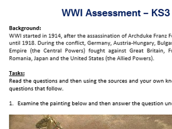 WWI Assessment