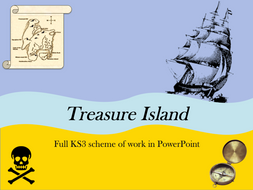 Treasure Island PowerPoint Lesson Bundle