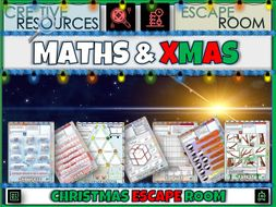 Maths Games Christmas Escape Room