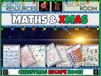 Maths Games Christmas Escape Room