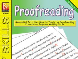 Proofreading: Sequential Activities to Improve the Writing Process