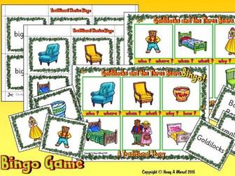 Goldilocks and The Three Bears KS1 - Bingo