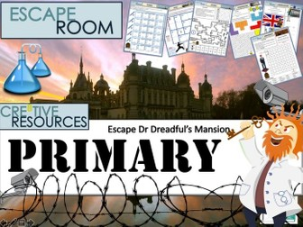 Primary KS2 Transition Escape Room