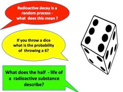 Half Life and Radioactive Decay