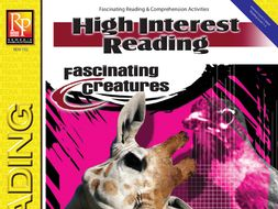 Fascinating Creatures: High-Interest Reading
