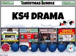 KS4 Drama Christmas Bundle