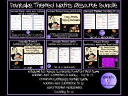Pancake Day Themed Maths' Bundle