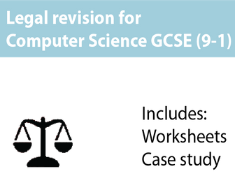 GCSE Computer Science 9-1 - Legal Revision for OCR