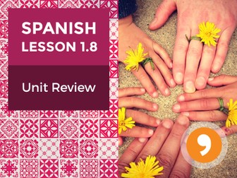 Spanish Lesson 1.8: ¡Hola! - Unit Review