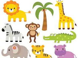 Basic French animals (games and exercises) primary or secondary