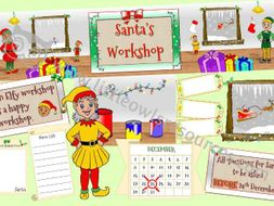 Santa's Workshop Role Play Area Pack