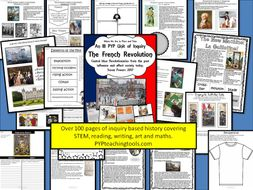A Complete Unit of Inquiry The French Revolution IB PYP