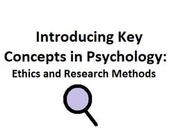 Introducing Key Concepts in Psychology