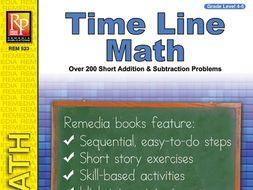 Time Line Math