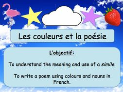French Colour Poetry