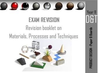 Edexcel Product Design Revision book 3