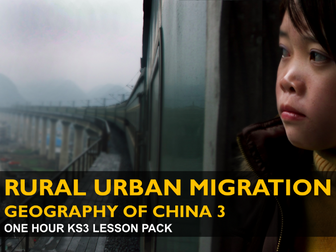 Rural Urban Migration - Geography of China 3