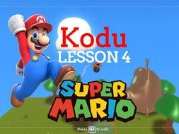 Kodu - Super Mario - Lesson 4
