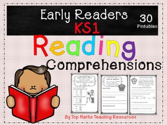 KS1 and Early Years English Reading Comprehensions