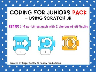 Coding for Juniors Pack – Using Scratch Jr