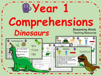 Year 1 Comprehensions - Dinosaurs