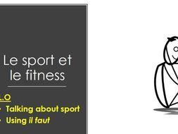 Studio 3 Rouge Module 2 Bien dans sa peau Unité 2 pp. 34–35 Le sport et le fitness