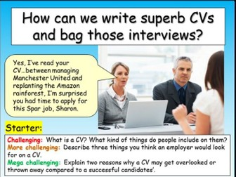 CVs : Careers + Employment