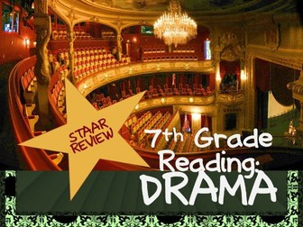7th Grade STAAR Reading Review: Drama
