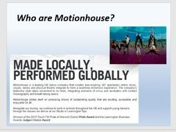 Year 8 Exploring Motionhouse