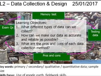 L2 - Data collection & design