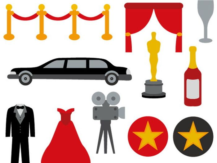 hollywood movie night clip art bundle red carpet party by revidevi rh tes com hollywood clipart free hollywood clip art for invitation