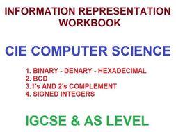 Information Representation Workbook  IGCSE/AS Level