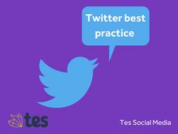 Best Practice for Twitter