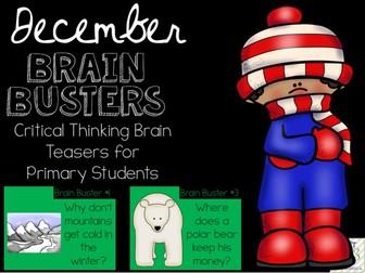 December Brain Busters