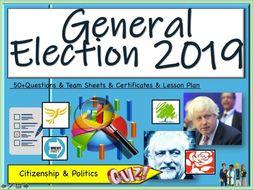 General Election 2019 Quiz