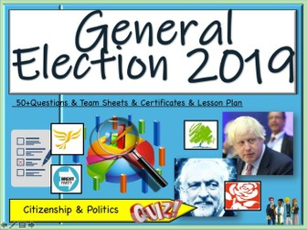 General Election 2019 Quiz