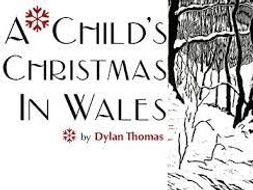 A Childs Christmas In Wales.A Child S Christmas In Wales By Dylan Thomas Reader S