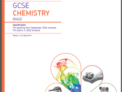 AQA (2018 Exam)  GCSE Chem Specs Bookmarked