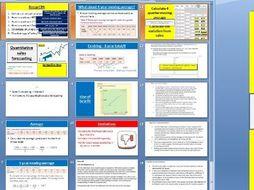 3.3.1 Quantitative sales forecasting - Theme 3 Edexcel A Level