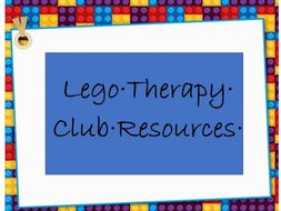 Lego Therapy Club Resources