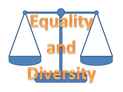 Equality and Diversity Card Activity