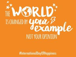 International Day of Happiness PPT and Posters - 20th March 2018