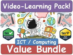 ICT / Computing / Computer Science [Video Learning Pack] ICT IT