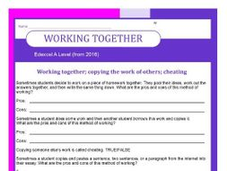 Edexcel A Level Music (2016-) Working together guide