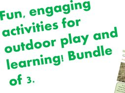 Simple, last minute children's outdoor activities