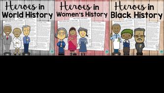 Heroes in History Bundle