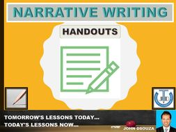 NARRATIVE WRITING : FLOW CHART