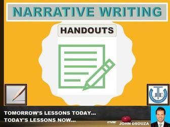 NARRATIVE WRITING : FLOW CHART
